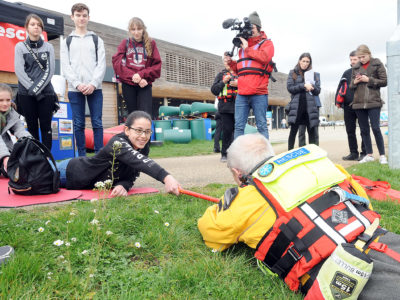 Lee Valley White Water Centre The Robbie Lea Water Safety Partnership Engagement Event   21/03/19 Anne-Marie Sanderson